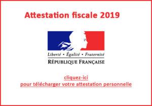 Lien vers attestation fiscale